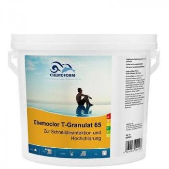 Chemochlor-T-Granulat 65 (гранулят) Быстрорастворимый хлорпрепарат для ударного хлорирования 5кг