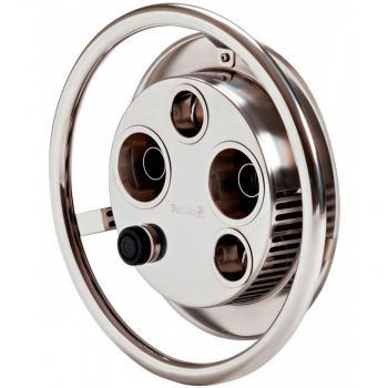 Закладной элемент + лицевая панель противотечения Jet Swim 2000 (бронза + нерж. сталь)
