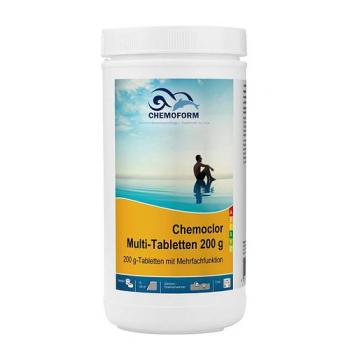 Multitab (табл. 200 г) Медленнорастворимый хлорпрепарат для длительного хлорирования 1кг