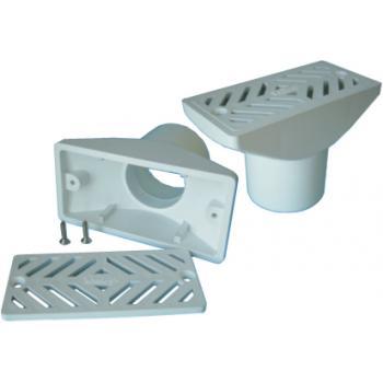 Забор воды для переливных желобков, присоединение 63 мм