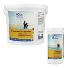 CHEMOCHLOR CH-TABLETTEN (20г) Неорганический хлорпрепарат с содержанием активного хлора до 70%. 1 кг