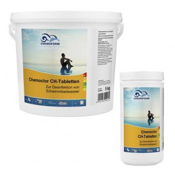 CHEMOCHLOR CH-TABLETTEN (20г) Неорганический хлорпрепарат с содержанием активного хлора до 70%. 10кг