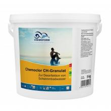 Chemochlor CH-Granulat Быстрорастворимый хлорпрепарат для ударного хлорирования (70% акт. хлора) (5кг)