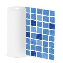 SUPRA мозаика синяя / Mosaic blue 165 cm, цвет 1123/01