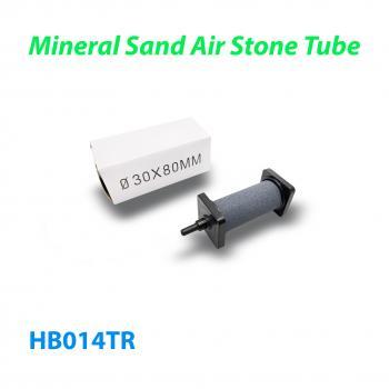Распылитель (диффузор) воздушный круглый Mineral Sand Air Stone Tube Ø30 х 80 мм с упорами из пластика