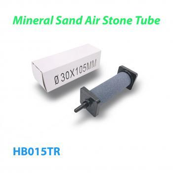 Распылитель (диффузор) воздушный круглый Mineral Sand Air Stone Tube Ø30 х 105 мм с упорами из пластика