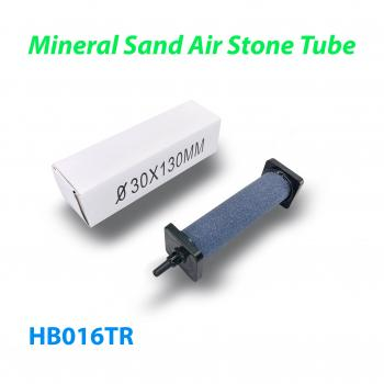 Распылитель (диффузор) воздушный круглый Mineral Sand Air Stone Tube Ø30 х 130 мм с упорами из пластика