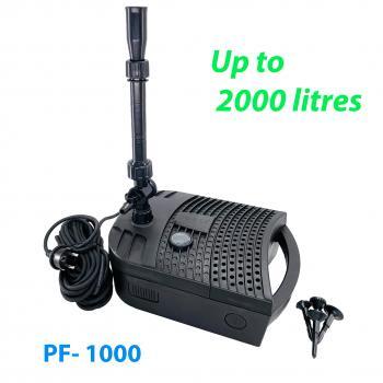 Фильтр подводный PF-1000 с УФ лампой 5 Вт и насосом