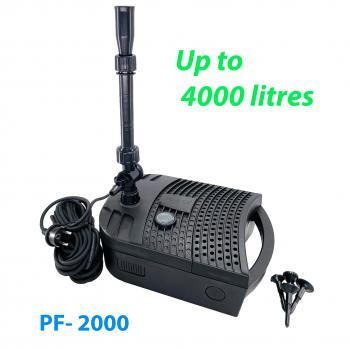 Фильтр подводный PF-2000 с УФ лампой 7 Вт и насосом