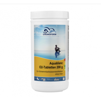 Aquablanc O2 Sauerstofftabletten (табл. 20 г) бесхлорное обеззараживающее средство в таблетках 1 кг.