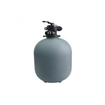 """Фильтр 500мм без подставки, 1.5"""" верхний 6-ти ходовой клапан, подключение РВ 1.5"""""""