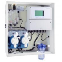 Измерительно-дозирующая станция Kontrol Guard Fort pH-FCl Amp с мембранными насосами Tekna 5 л/час + ModBus