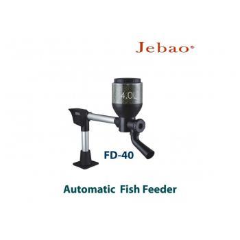 Автоматическая кормушка для прудовых рыб Jebao Fish Feeder FD-40 с объемом контейнера для корма на 4 литра