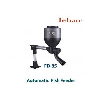 Автоматическая кормушка для прудовых рыб Jebao Fish Feeder FD-85 с объемом контейнера для корма на 8,5 литров
