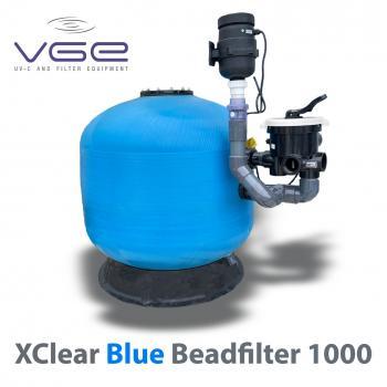 Фильтр биологической очистки для пруда напорный Xclear Blue Beadfilter 1000 до 27.5 м3/час