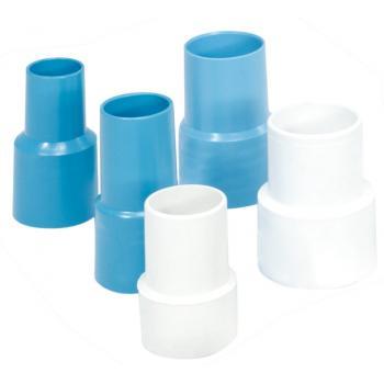 Наконечник для спиралевидного шланга резиновый Astral Pool 38мм (01372). синий