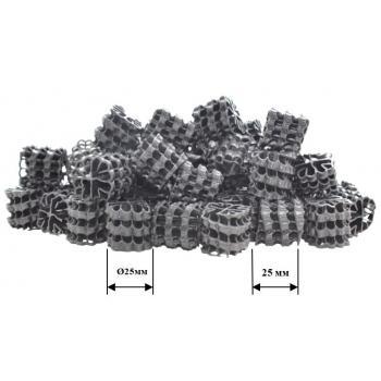 Бионаполнитель (биозагрузка) Helix Ø25х25 черный
