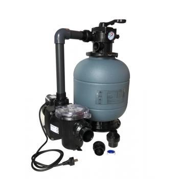 Фильтрационный комплект 400мм,  6 м3/час с насосом FREEFLO,  0,37кВт с подставкой