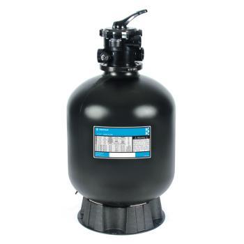 Фильтровальная емкость AZUR 475 мм, 9 м3/ч 6-ходовой верхний клапан, 80 кг песка