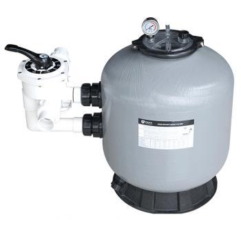 """Фильтрационная емкость S700, боковой клапан 1,5"""", 20 м3/час, загрузка песка 215 кг"""