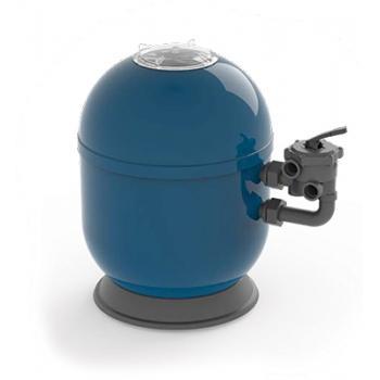 """Фильтровальная емкость Ocean, 400 мм, 6,5 м3/час шестиходовой 1,5"""" боковой клапан, 50 кг песка"""