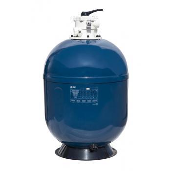 """Фильтровальная емкость Pacific , 400 мм, 6,5 м3/час шестиходовой 1,5"""" верхний клапан, 50 кг песка"""