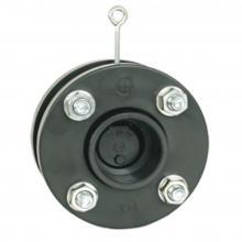 Обратный клапан с фланцем и манжетом 160 мм