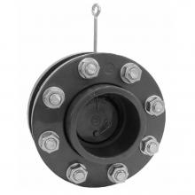 Обратный клапан с фланцами и манжетами подпружиненный 75 мм