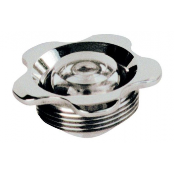 Впускная форсунка - фланец нерж.сталь, прозрачный глазок 9 мм