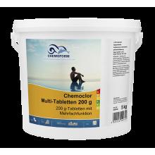 Multitab (табл. 200 г) Медленнорастворимый хлорпрепарат для длительного хлорирования 10кг