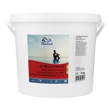 pH-Regulator Minus (гранулят). Препарат для снижения уровня рН в воде 3 кг