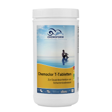 Chemochlor-T-Tabletten (табл. 20 г)  Медленнорастворимый хлорпрепарат для длительного хлорирования