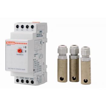 Контроль уровня воды (НА DIN РЕЙКЕ)+ 3 датчика