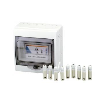 Контроль уровня воды на 7 датчиком в коробке