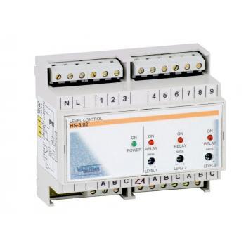 Контроль уровня воды (НА DIN РЕЙКЕ)+ 7 датчиков