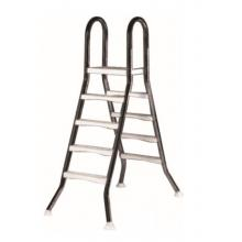 Лестница   4+4 ступ.(для сборных наземных бассейнов h=1,2m)
