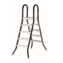 Лестница  5+5 ступ.(для сборных наземных бассейнов h=1,5m)