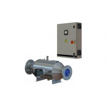 УФ установка автоматический давления  CF 1000, 1000 м3/ч, 17.5 кВт, автоматический очиститель