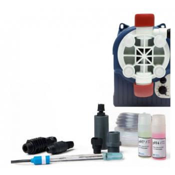 Комплект электрода pH с мембранным насосом для общественных бассейнов