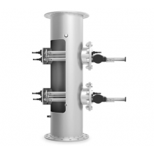 УФ установка  ECO-DIRECT  2 кВт, 84 м3/ч. с автоматическим очистителем, LED дисплей