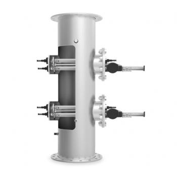 УФ установка  ECO-DIRECT  1 кВт, 33 м3/ч. с автоматическим очистителем, LED дисплей