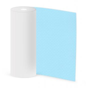 "Elbeblau Blue Light blue (687""светло-голубой), ширина 2,00 м"