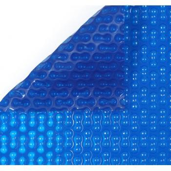 Солярное покрытие 400 микрон, синий  - линейный метраж, ширина 4 м