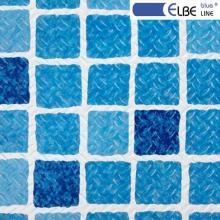 Elbeblau Blue , противоскольжение Mosaic blue (1123/01 мозаика синяя) в рулоне 10м.п