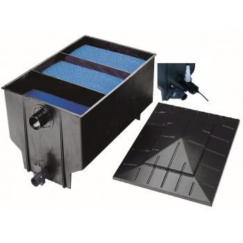 Фильтр 3-х камерный Chamberfilter 330L/30m3 с UV-C лампой 40W