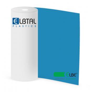 Плёнка ПВХ Elbe Natural Sealing для резервуаров с питьевой водой, синяя (цвет 690), неармированная, толщина 1.5 мм, ширина 2 м