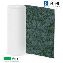 Плёнка ПВХ Exclusive Natural PEARL (Жемчужина), цвет:  темно-зеленый (578), армированная, толщина 1.6мм, ширина 1.65м, длина рулона 25м