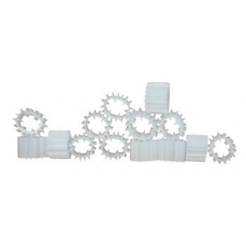Бионаполнитель (биозагрузка) Helix Ø9х7 белый