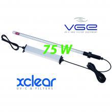 Комплект погружной ультрафиолетовой лампы UV-C 75 Вт