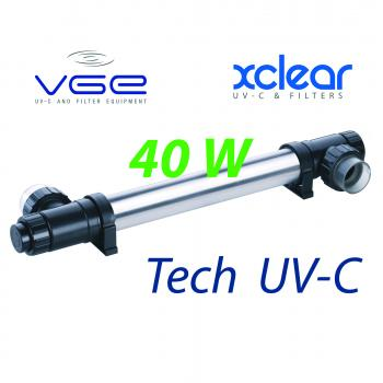 Комплект лампы UV-C XClear Budget Tech 40 Watt